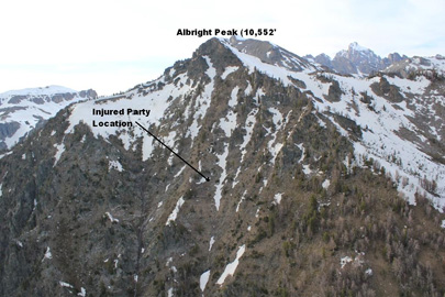 Albright Peak SAR Overview
