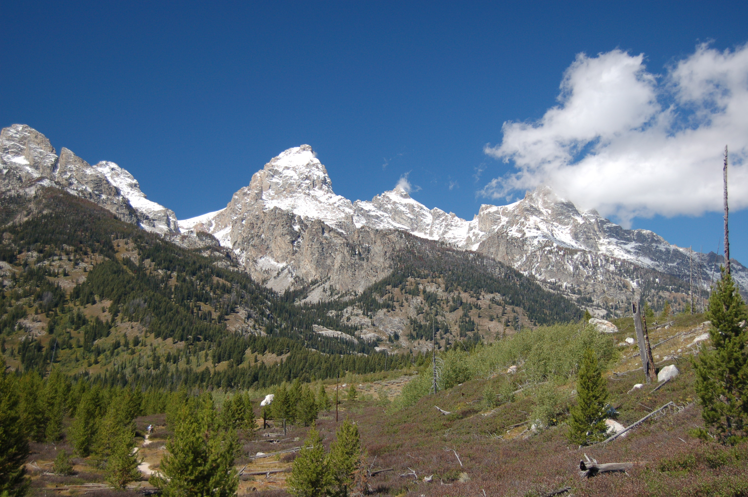 Rangers Respond To A Climbing Fatality On The Grand Teton