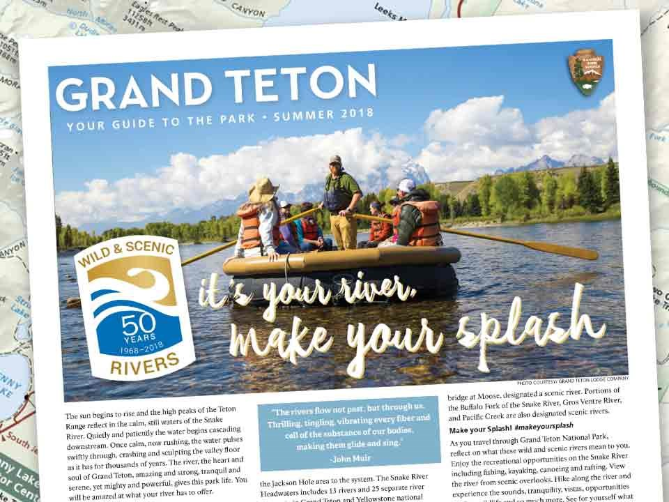 Grand Teton Guide, Park Newspaper