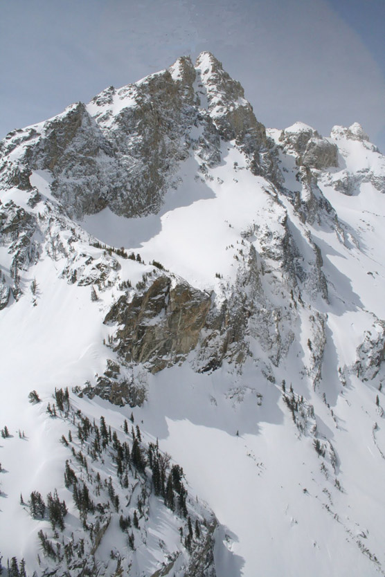 Avalanche on Nez Perce