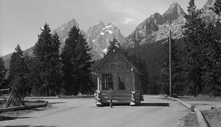 Historic Entrance Jenny Lake