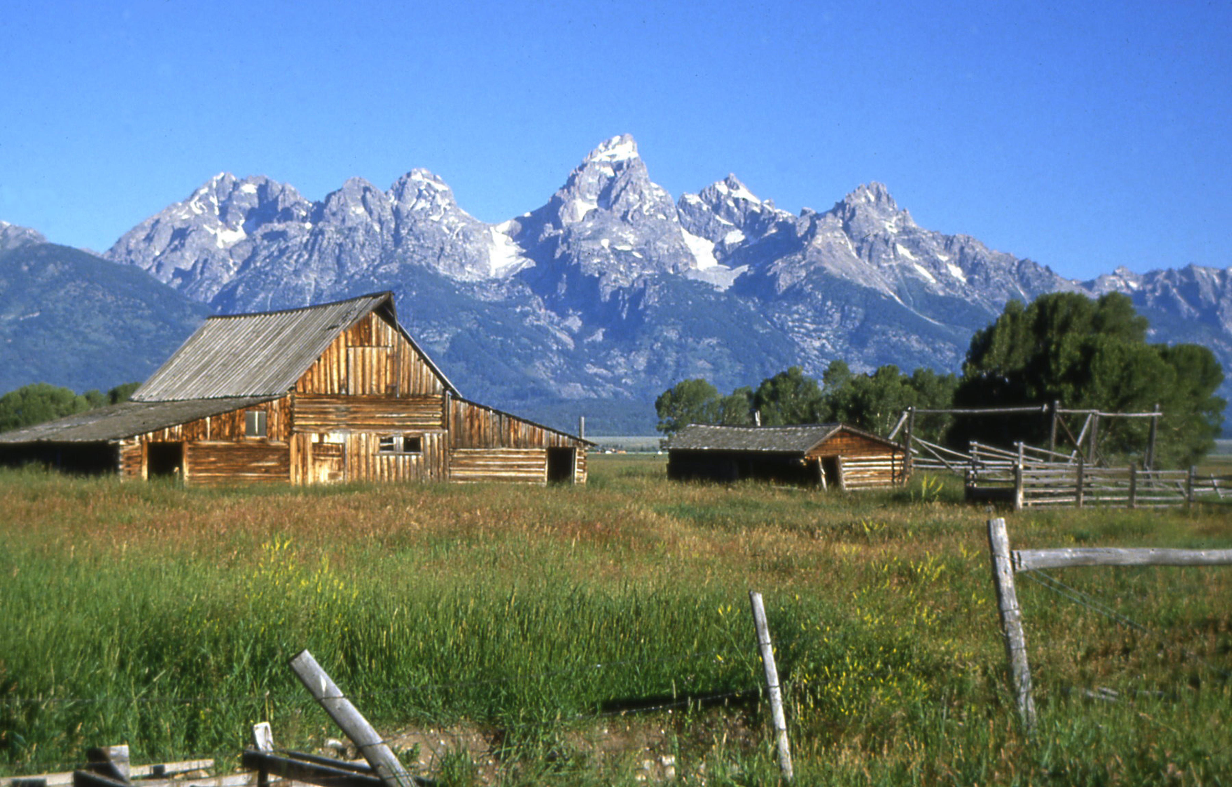Centennial Celebration Planned To Commemorate The T A Moulton Barn Grand Teton National Park U S National Park Service