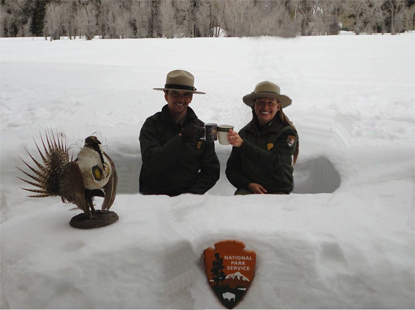 Rangers at Snowdesk