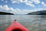 Kayak on Jackson Lake
