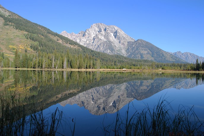 String Lake and Mount Moran