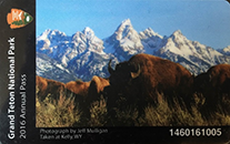 2016 Grand Teton National Park Pass