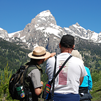 Ranger-led hike to Taggart Lake with Grand Teton