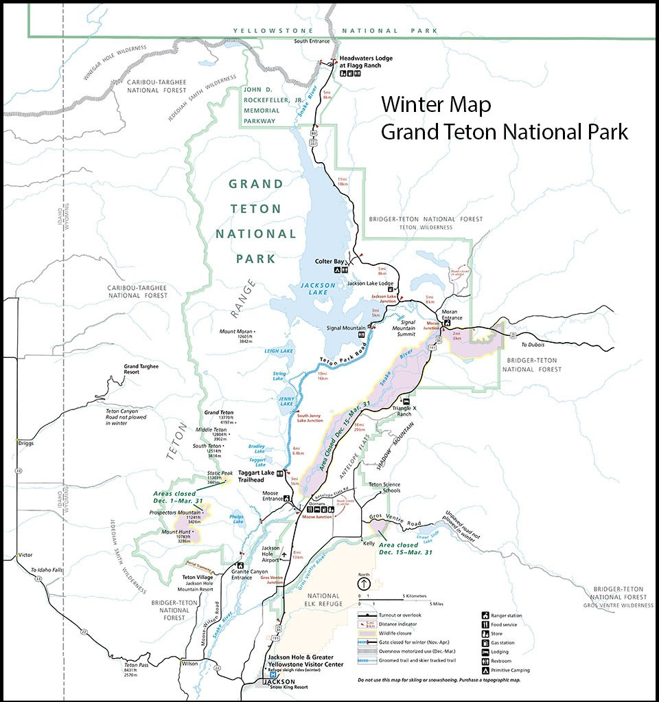 Maps - Grand Teton National Park (U S  National Park Service)
