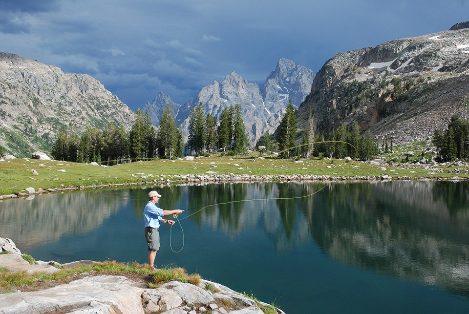 fishing grand teton national park u s national park