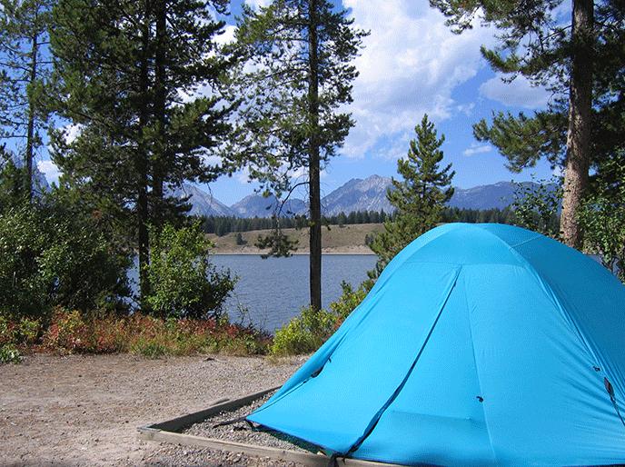 Camping Grand Teton National Park U S National Park