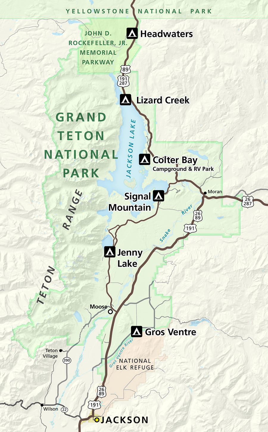 Picture of: Camping Grand Teton National Park U S National Park Service