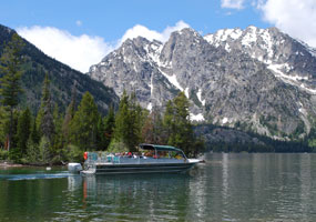 Jenny Lake Boating