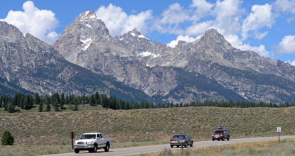 Scenic Drives Grand Teton National Park US National Park Service
