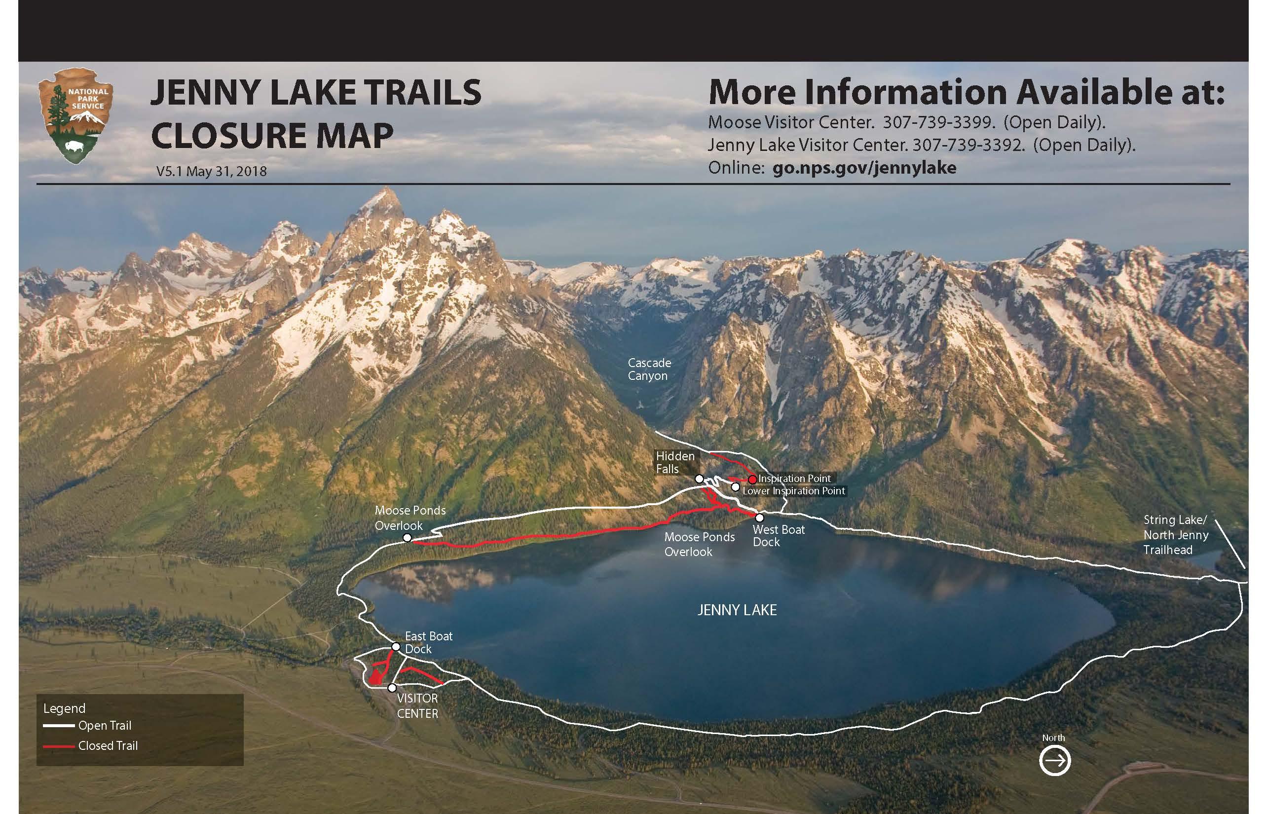 Jenny Lake Renewal Project - Grand Teton National Park (U.S. ...