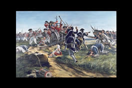Charge of the 1st Maryland Regiment at Guilford Courthouse