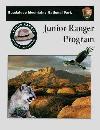Guadalupe Mountains Jr. Ranger Booklet