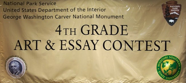 art and essay contest george washington carver national monument 4th grade art and essay contest george washington