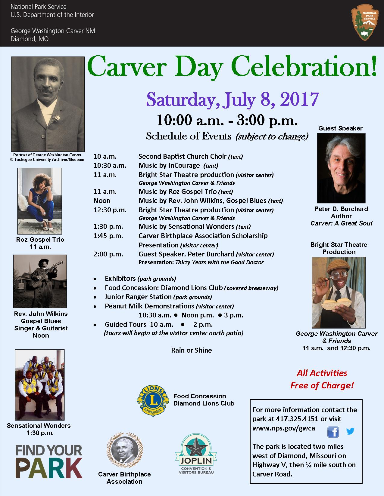 carver day george washington carver national monument u s  carver day 2017