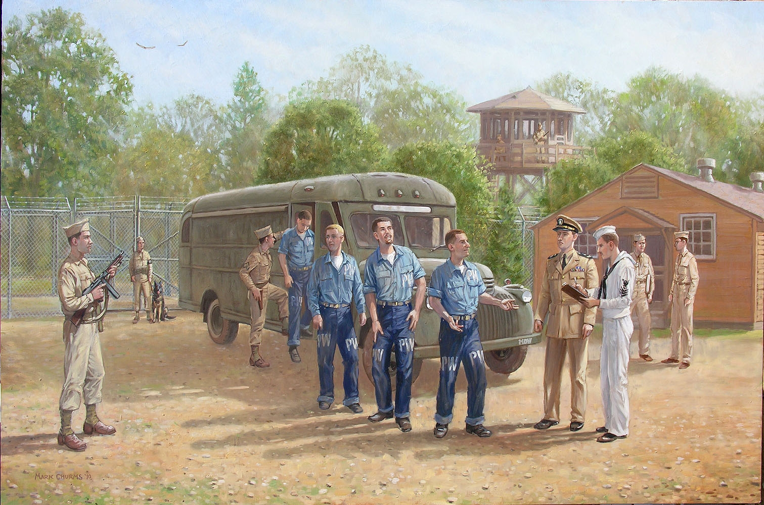 German POWs at Fort Hunt