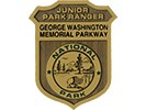 Junior Ranger badge for the George Washington Memorial Parkway
