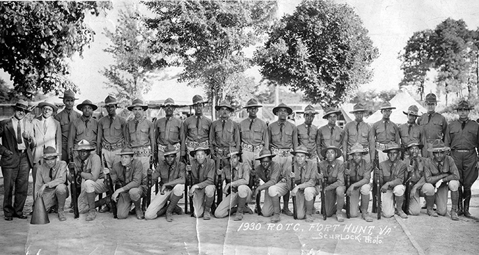 African American ROTC at Fort Hunt