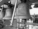 Bells at the top of the carillon