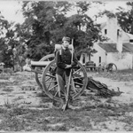 Soldier with the 22nd New York Infantry