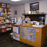 Books, pictures, puzzles, music and much more are available.