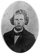 black and white image of Dauphin Thompson