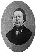 black and white image of Edwin Coppoc