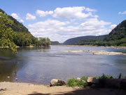 Harpers Ferry watergap