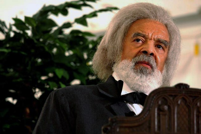 Fred Morsell as Frederick Douglass