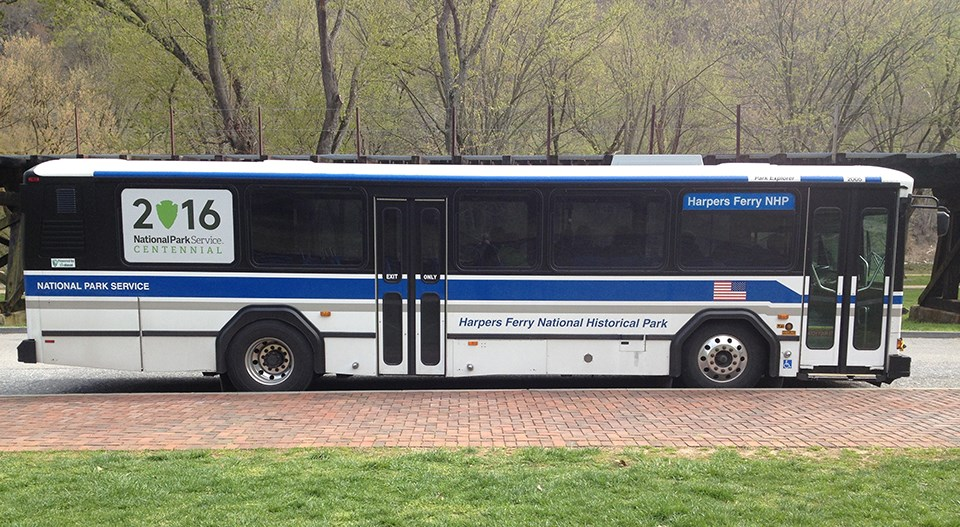 Harpers Ferry NHP shuttle bus