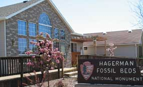 Hagerman Fossil Beds NM Visitor Center