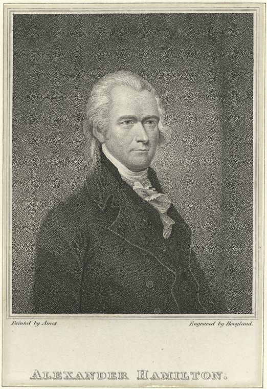 Alexander Hamilton, from the New York Public Library Digital Collection (public domain).