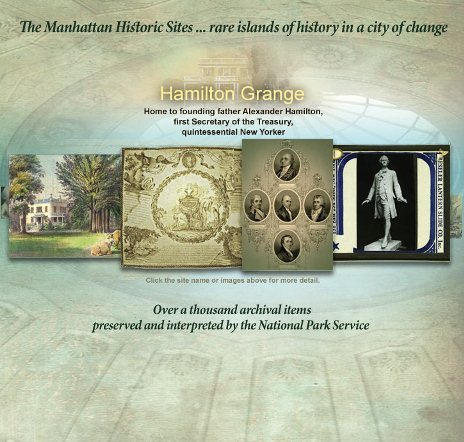 The NPS Manhattan Historic Sites Archive
