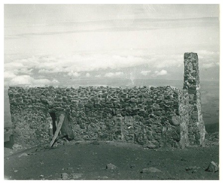 The Kalahaku Resthouse, also known as Craigielea, was the first facility built near the summit of Haleakalā in 1894.