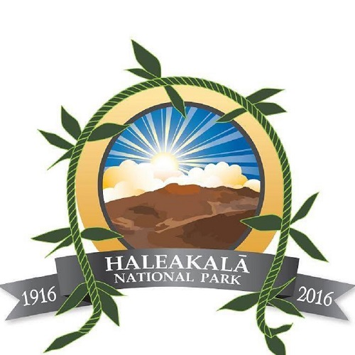 Haleakala National Park 100th Anniversary logo