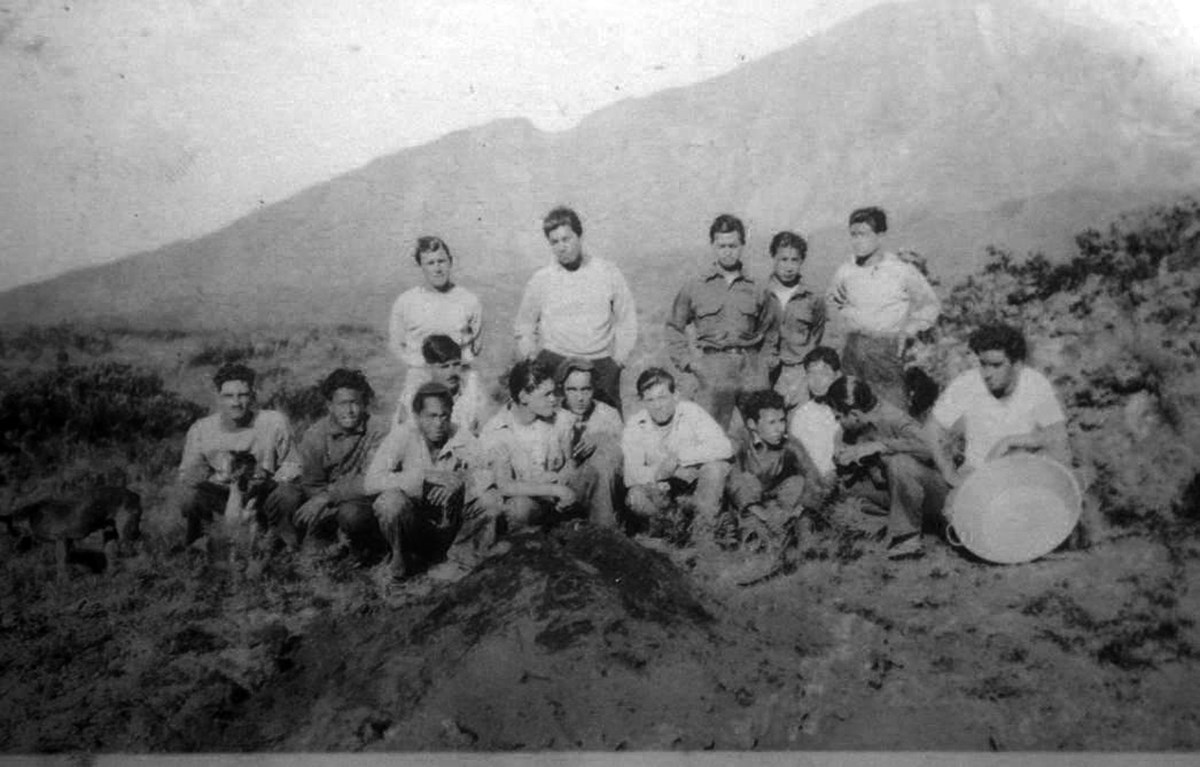 CCC Workers, Haleakala Crater