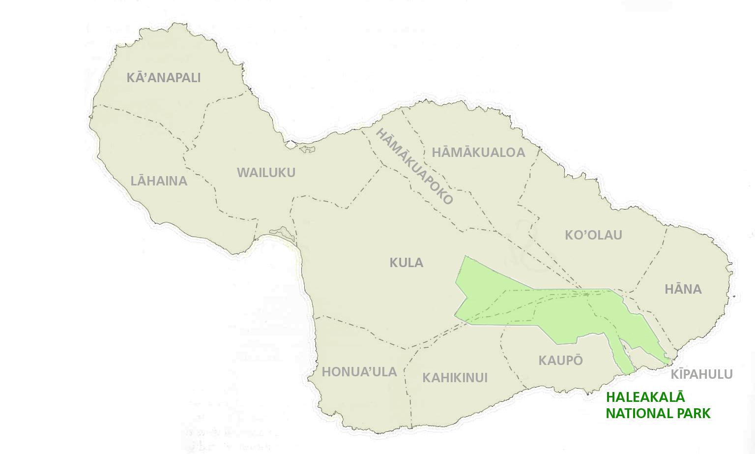 Native Hawaiian Land Division Haleakalā National Park U