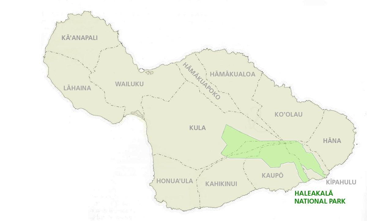 Hawaii Districts Big Island