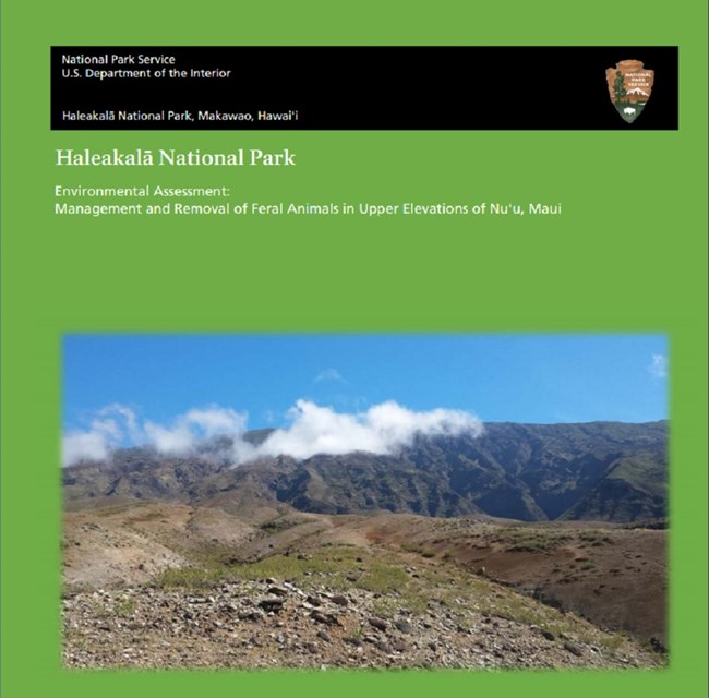 Environmental Assessment: Management and Removal of Feral Animals in Upper Elevations of Nu'u, Maui