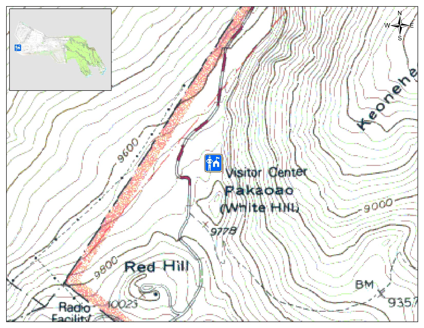Map of Summit area