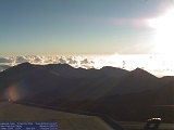 Summit Webcam viewing into Haleakalā Crater