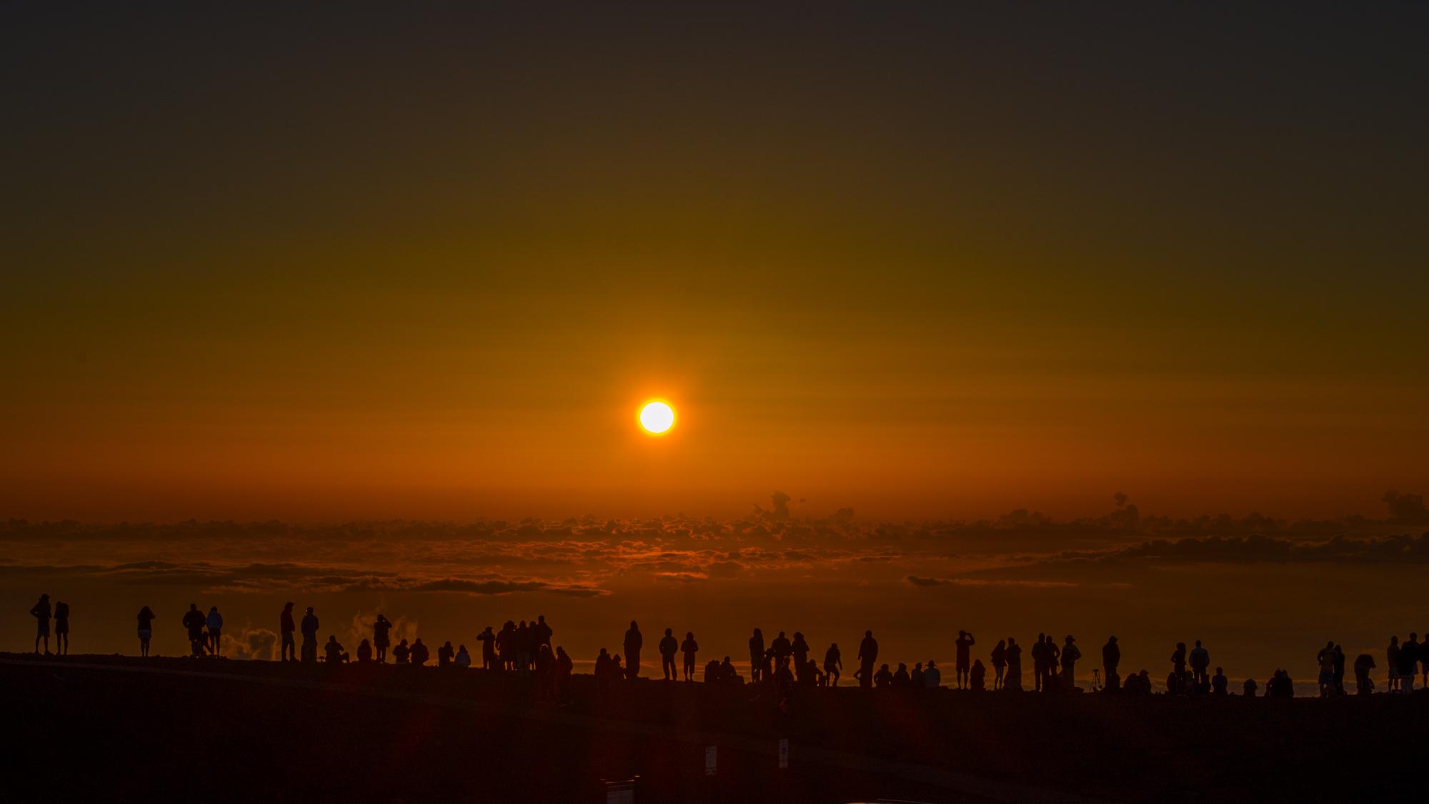 Sunrise and Sunset - Haleakalā National Park (U.S. National Park ...