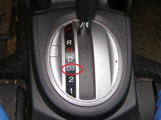 This is an example of a simple downshift.