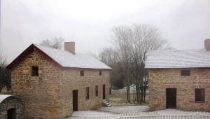 The slave quarters on the Lower Farm