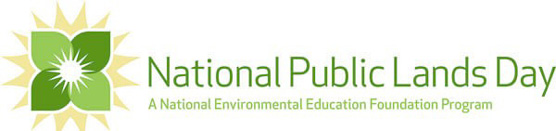 National Public Lands Day Logo and Heading