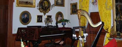 The Music Room in the Hampton Mansion