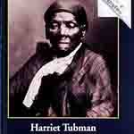 Book cover showing close up of Harriet Tubman photo